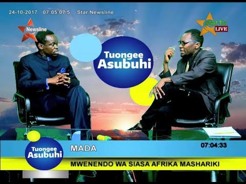 PLO LUMUMBA IN TANZANIA OCTOBER 24TH 2017 @STAR TV