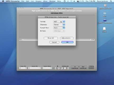Audacity - How To Convert WMA to AIFF WAV and export MP3