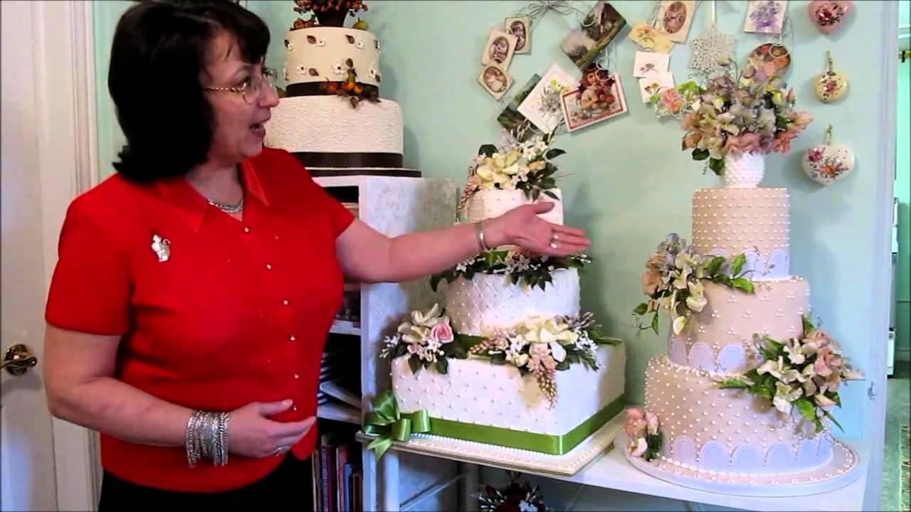 Elisabetta Salvoni Dolci Fiori Wedding Cakes Ontario