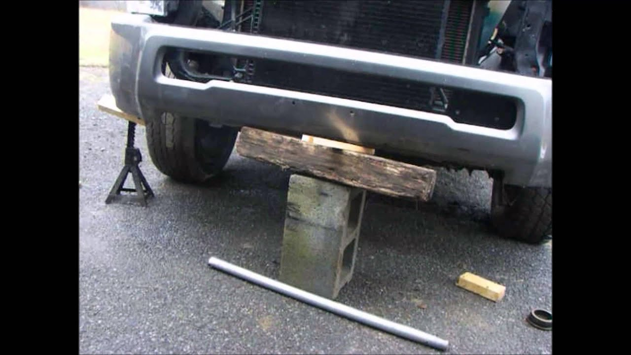 How To Install 4th Gen Bumper On 2nd Gen Dodge Ram With