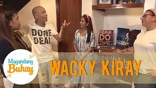 Take a look inside Wacky Kiray's new house! | Magandang Buhay