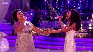 Dreamgirls Perform On BBC Strictly Come Dancing