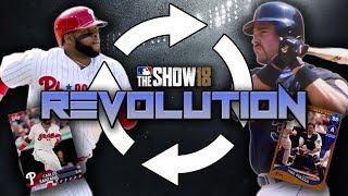 Carlos Santana is a BEAST! Revolution Ep. 8! MLB The Show 18 Diamond Dynasty