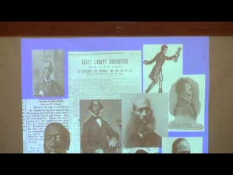 Underground Railroad (Part I) at the Capital District Humanist Society