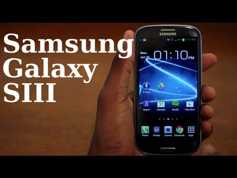 Samsung Galaxy SIII Review!