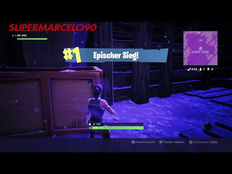 WINNING WITH NO WEAPONS!!! #1  FORTNITE  BY SUPERMARCELO90  ITALIA    DEUTSCHLAND