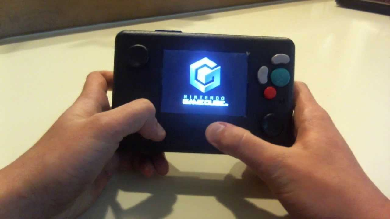 Gamecube Portable - YouTube
