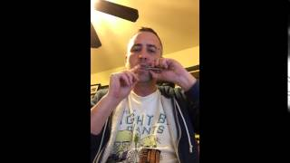 Chris is getting better at the Jaw Harp.