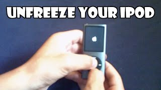 How to: Unfreeze your iPod