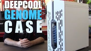 Deepcool Genome Mid Tower AIO Case Overview by Mnpctech.com