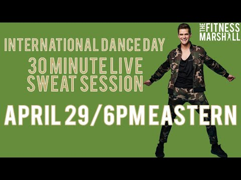 International Dance Day 30 Minute Sweat Session   Move #WithMe