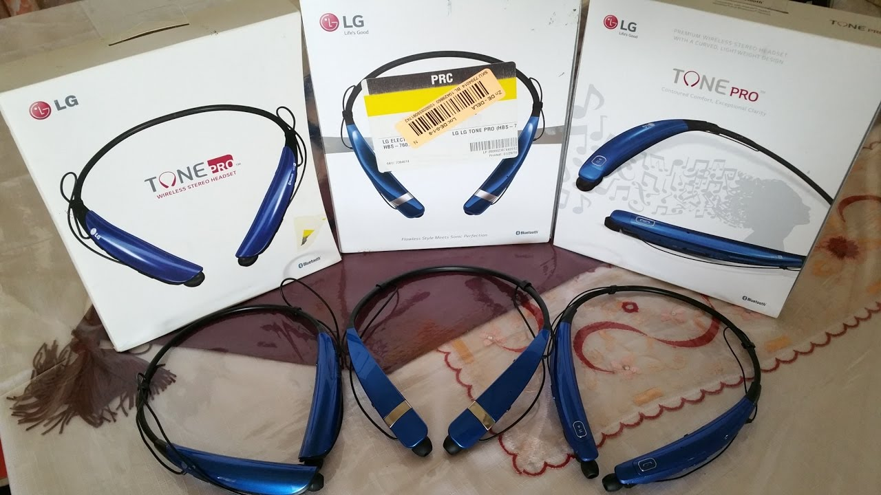 33f14f1b029 LG Tone Pro HBS-750 vs HBS- 760 vs HBS-770 bluetooth headset - YouTube