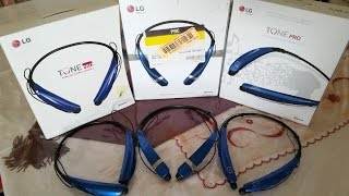 LG Tone Pro HBS-750 vs HBS- 760 vs HBS-770 bluetooth headset
