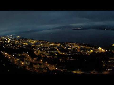 The evil Scotsman flies a drone over Port Glasgow on the Clyde