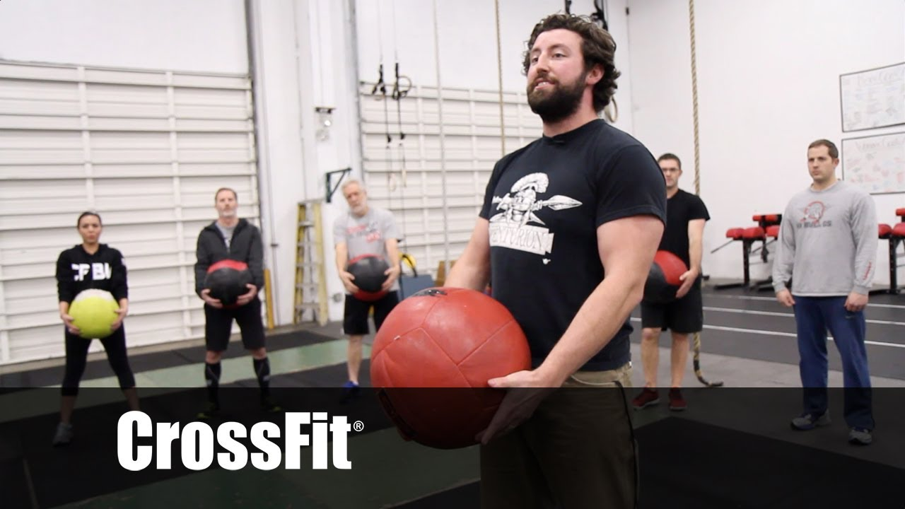 Crazy-Time Power Cleans With Jesse Ward