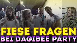 FIESE FRAGEN bei Dagi Bees BEETIQUE Party