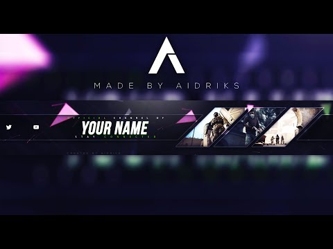 free gaming banner template 2017 photoshop cc cs6