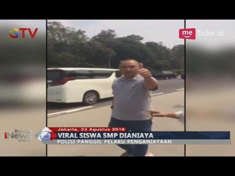 [Video Amatir] Pelaku Penganiayaan Anak SMP di Tol Acungkan Jempol Pasca Pukul Korban - BIM 23/08