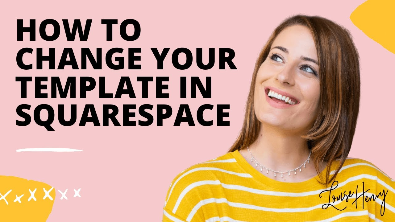 How To Change Templates In Squarespace Youtube