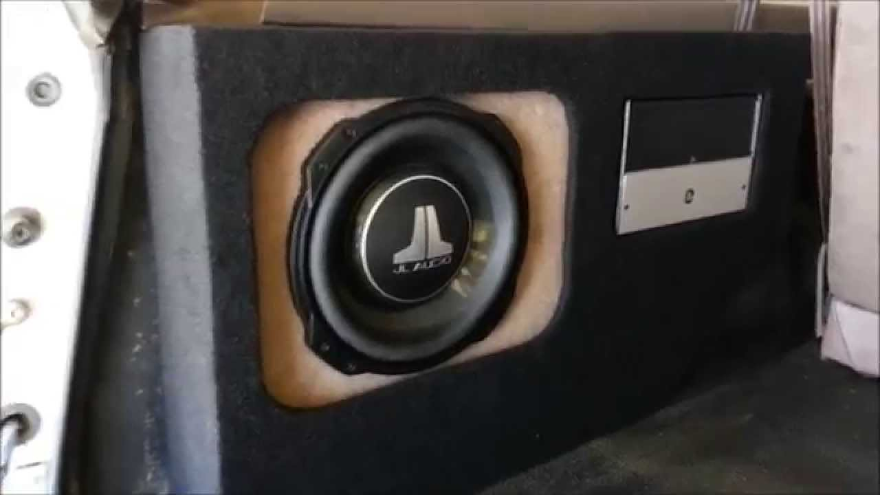Ford Bronco Custom Enclosure For Amp And Sub At Al Amp Eds