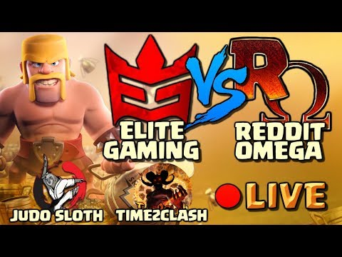 MUST WIN WAR! Elite Gaming vs Reddit Omega - Clash of Clans CWL Week 12 War [2018]
