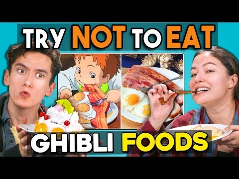 Try Not To Eat Challenge - Studio Ghibli Foods | People Vs. Food