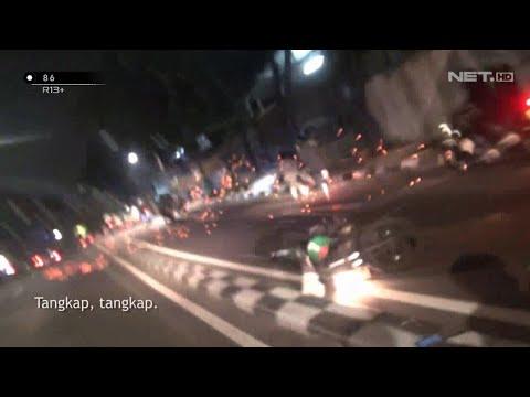 Download Mau Mulai Tawuran, Sekelompok Genk Motor Lari Berhamburan Ninggalin Motor - 86