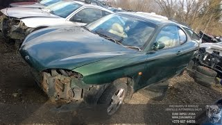 Car recycler parts Hyundai Coupe, 1996.06 - 2002.04 2.0 16V 102kW Gasoline Automatic Coupe