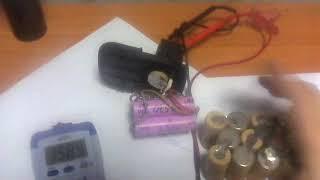 Ремонт акумулятора шуруповерта.