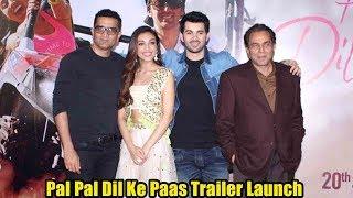 Pal Pal Dil Ke Paas Official Trailer Launch Full Video | Dharmedra,Sunny Deol Son Karan Deol,Sahher.mp3
