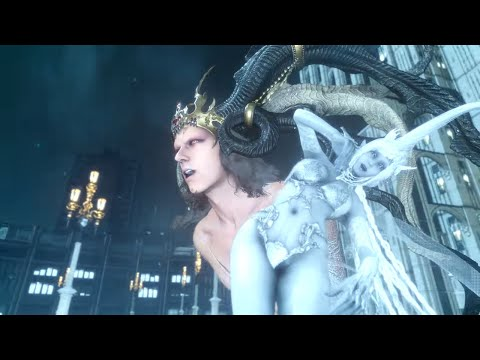 FINAL FANTASY XV - Ifrit Summon Boss Fight l Full Game [PS4 Pro]