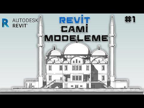 Revit Cami Modelleme #Part1