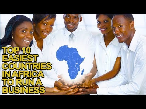 Top 10 Easiest Countries in Africa to Run a Business
