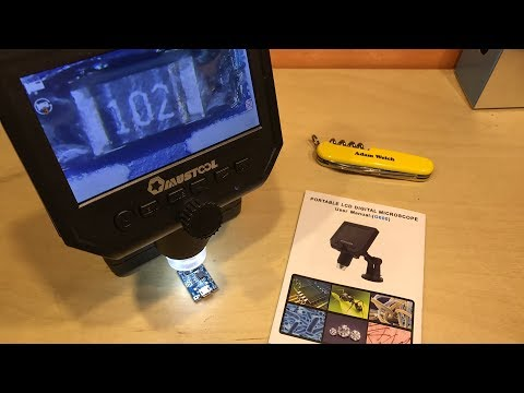 Mustool G600 LCD Microscope - 12v Solar Shed