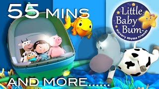 A Sailor Went To Sea | Plus Lots More Nursery Rhymes | From LittleBabyBum!