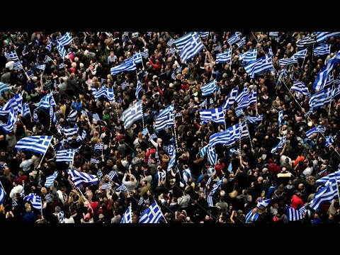Greece: Thousands protest over Macedonia name
