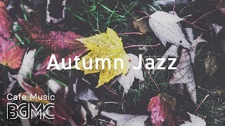 🍁Autumn Cafe Jazz Music - Relaxing Bossa Nova Music - Coffee Music