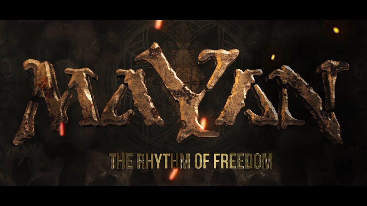 THE RHYTHM OF FREEDOM lyric video & pre-order DHYANA!
