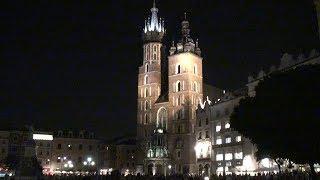 Kraków - Rynek nocą