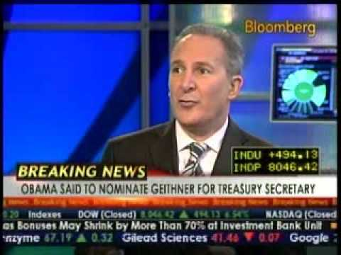 Peter Schiff on Bloomberg TV Great Interview  1/2