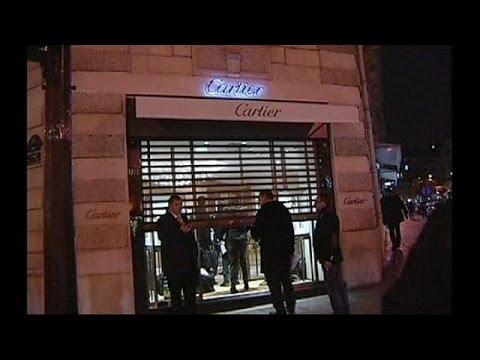 """لصان يفشلان في سرقة محل """" Cartier """" وسط باريس"""