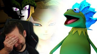 KERMIT GOT A 2 YEAR TIME SKIP?? | Kaggy Reacts to Cell VS Kale & Caulifla and Super Froggy Kermit