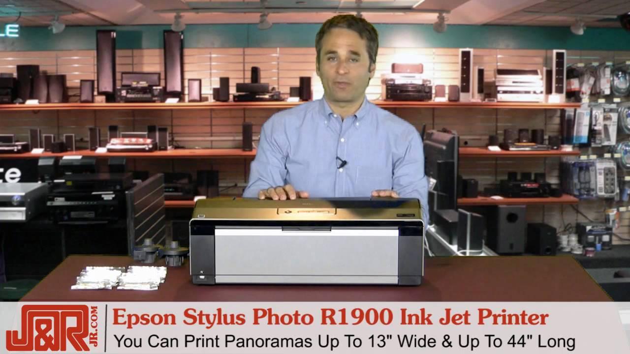 EPSON STYLUS PHOTO R1900 PRINTER DRIVER FOR WINDOWS 7