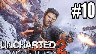 PRZEKLĘTY POCIĄG! - Let's Play Uncharted 2: Pośród Złodziei #10 [PS4]