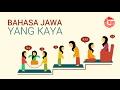Bahasa Jawa yang Kaya GNFI