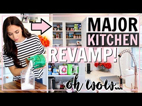 KITCHEN ORGANIZATION! DECLUTTER AND DEEP CLEAN WITH ME! ULTIMATE MOTIVATION | Alexandra Beuter