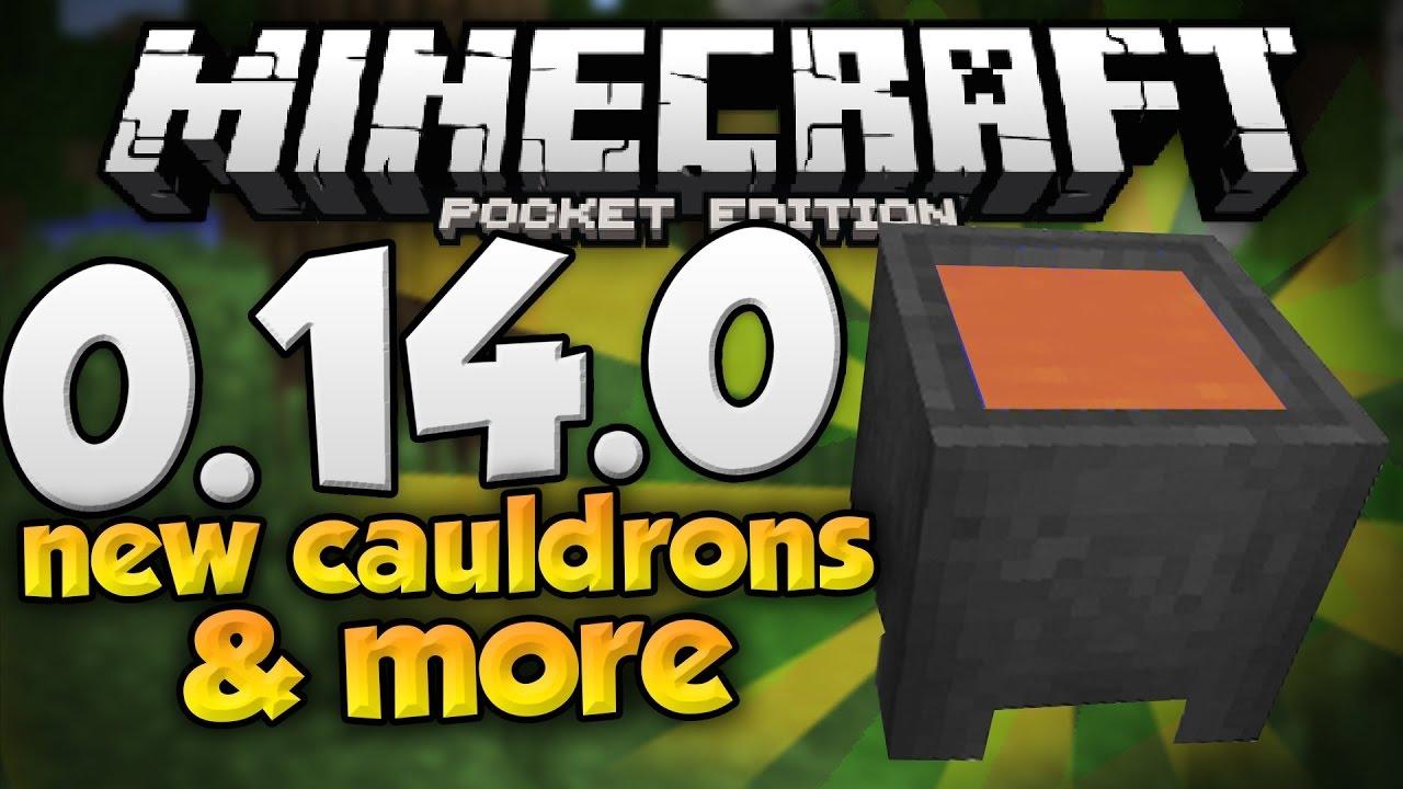 Minecraft Pocket Edition How To Use A Cauldron Youtube