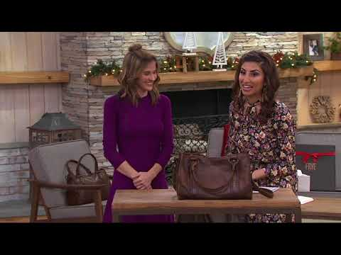 915a246cb Frye Leather Melissa Hobo Handbag on QVC by QVCtv