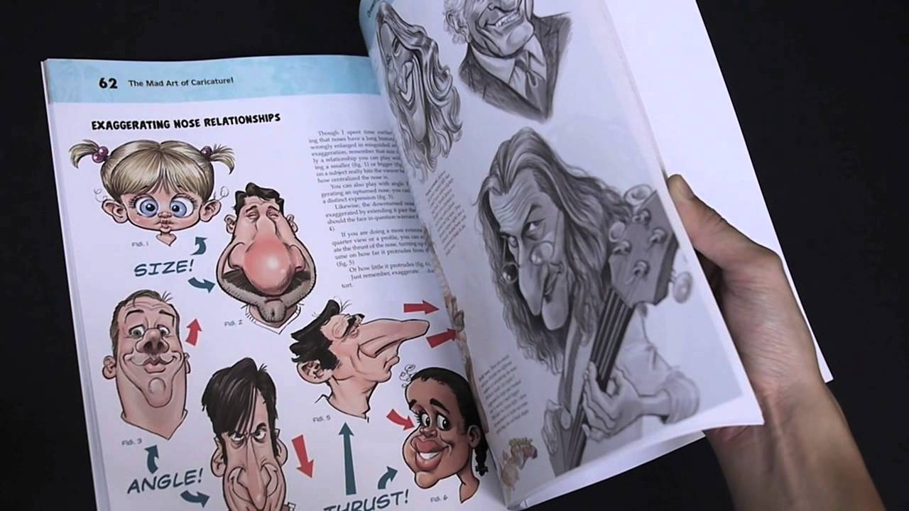 The Mad Art Of Caricature!: A Serious Guide To Drawing