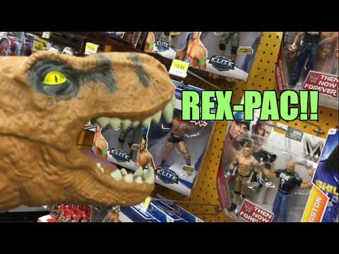 Wwe Toy Hunt With Jurassic Park Dinosaur Puppet Walmart